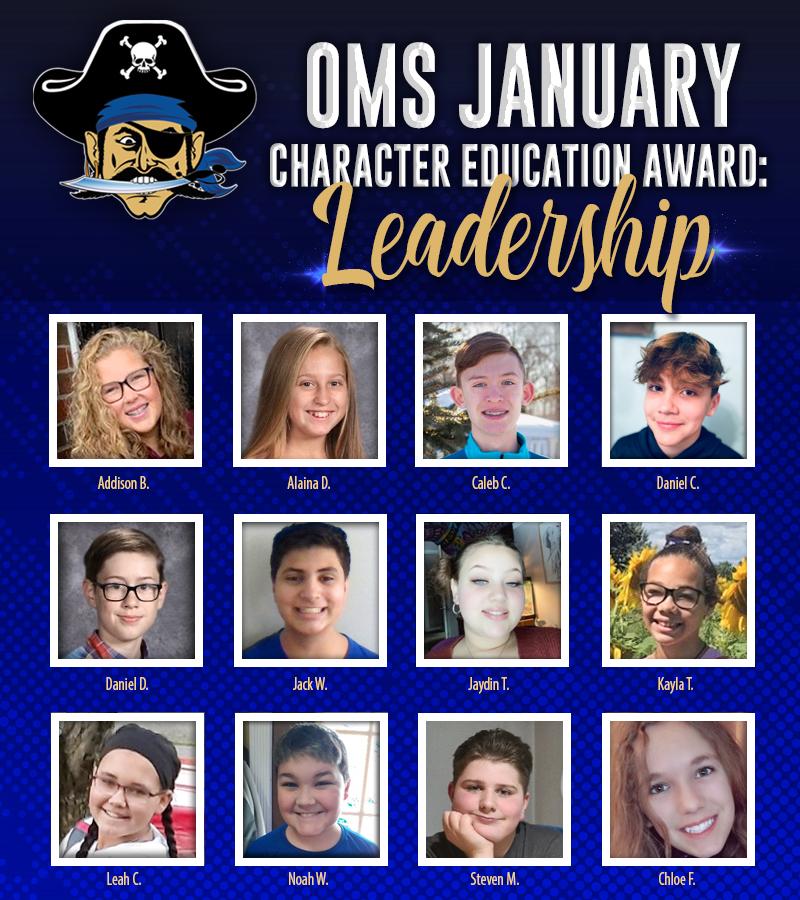 OMS character spotlight for January